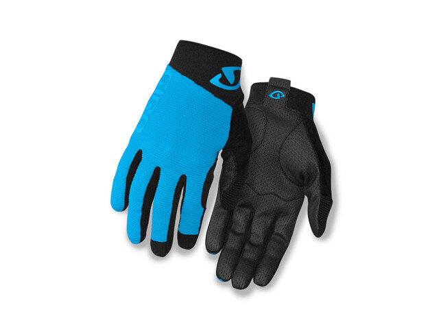 Giro Rivet II Gloves blue jewel/black